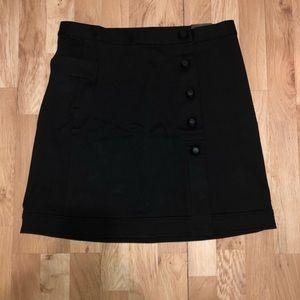 ALFANI PRIMA Black A-line Skirt Size 8